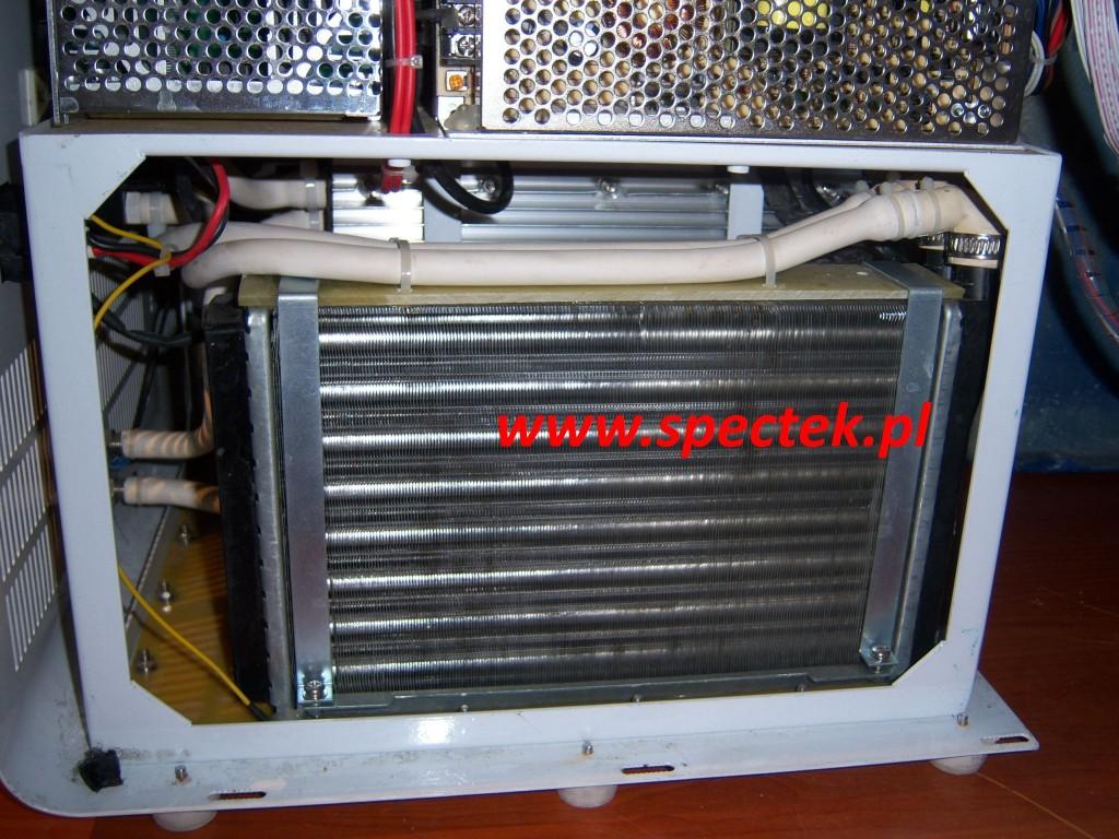 Chłodnica urządzenia IPL po czyszczeniu